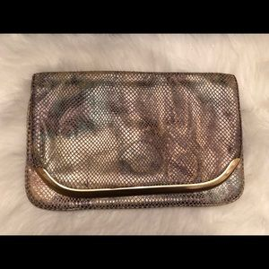 Banana Republic Snake Skin Clutch